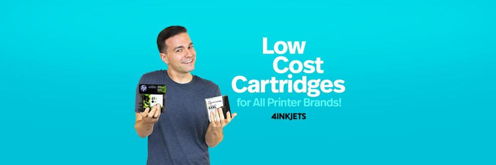 4inkjets Promotion Codes & Coupons For Up To 75% Off w/ Free Shipping bottom banner