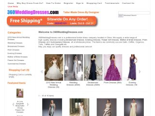 360weddingdresses.com coupons