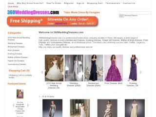 360weddingdresses.com coupons
