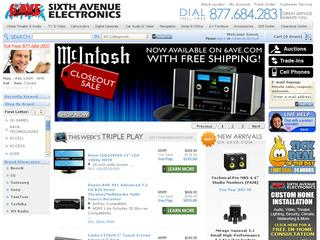 6th Ave Electronics coupons
