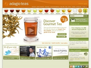Adagio Teas coupons