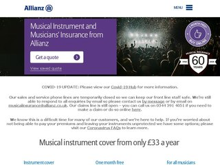 allianzmusicalinsurance coupon code