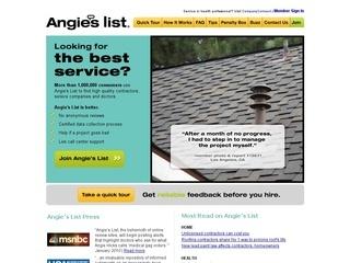 Angieslist.com coupons