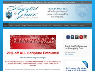Anointedbygrace.com coupons