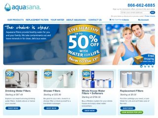 Aquasana Home Water Filters coupons
