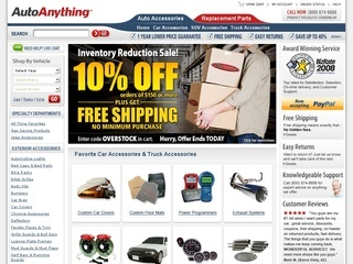 Autoanything coupon codes