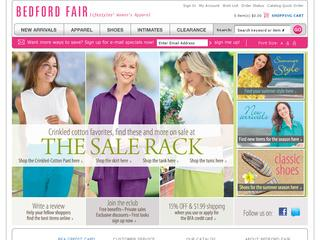 Bedford fair coupons free shipping