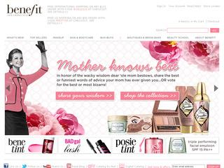 Benefit Cosmetics LLC coupons