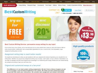 Best custom writing coupon