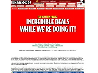 Big Dogs coupons