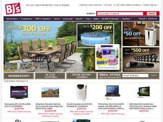 BJs Wholesale Club coupons