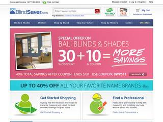 Blindsaver.com coupons