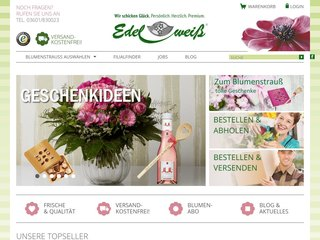 Blumenversand Edelweiss DE