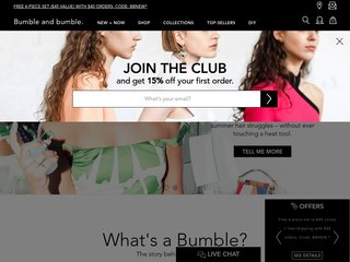 Bumbleandbumble.com coupons