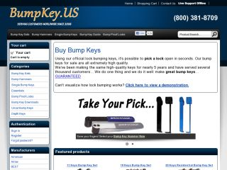 Bumpkey.us coupons