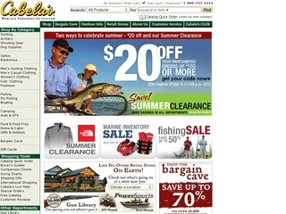 Cabela's Coupons % Verified Coupons · Top Brands & Savings · + Coupons Available.