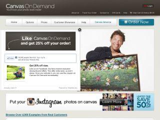 CanvasOnDemand.com-Your Photos on Canvas coupons