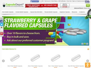 Capsuledepot.com coupons