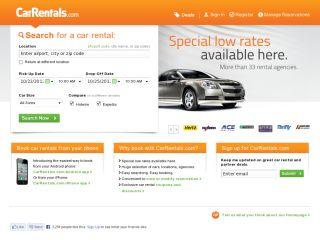 CarRentals.com coupons