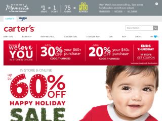 Carters.com coupons