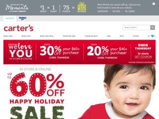 Carters.com coupons