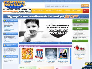 CenturyNovelty.com coupons