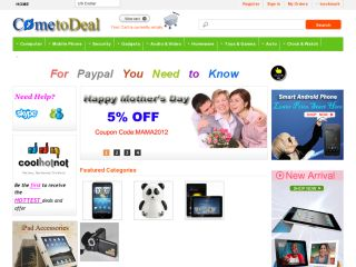ComeToDeal coupons