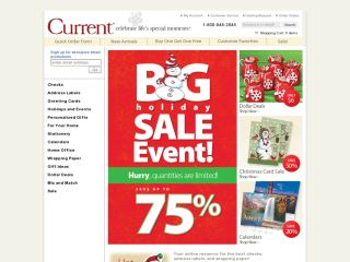 Current Catalog coupons