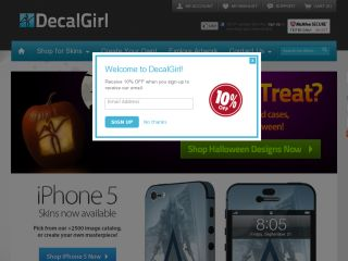 DecalGirl coupons