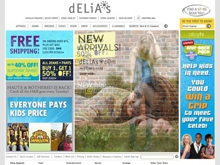 4 active dELiAs Coupons & Deals Visitors save an average of $; Save your hard-earned money when you shop online! Yes, uctergiyfon.gq offers a wide collection of Delias coupons to be used while buying Delias products. Choose from the amazing deals and use the codes to buy your favorite Delias products for less.