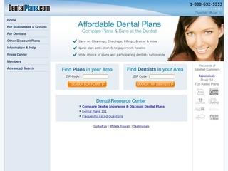 DentalPlans.com coupons