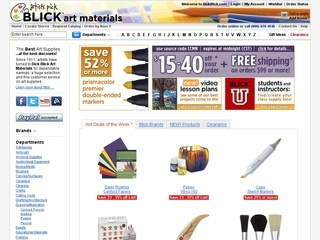 Dick Blick Art Materials coupons