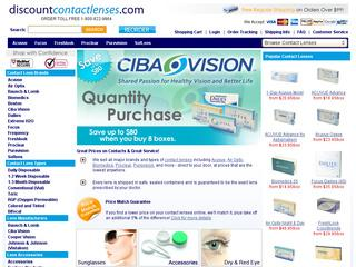 Discount Contact Lenses coupons