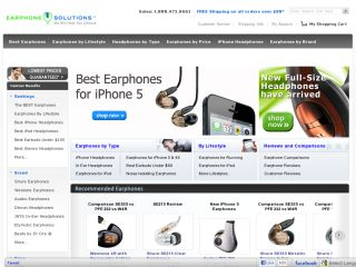 Earphone Solutions coupons