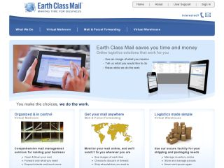 Earth Class Mail Online Postal Mail coupons