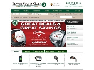 EdwinWattsGolf.com coupons