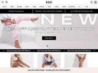 ego coupon code