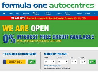 f1autocentres coupon code