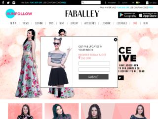 Faballey.com coupons