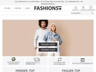 fashion5 coupon code