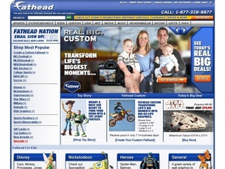 Fathead.com coupons