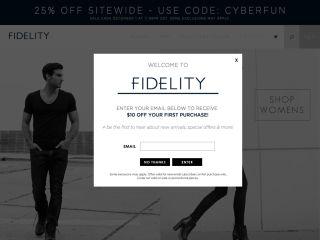 Fidelity Denim coupons