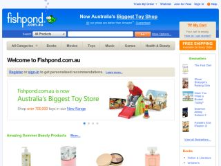 Fishpond.com.au coupons
