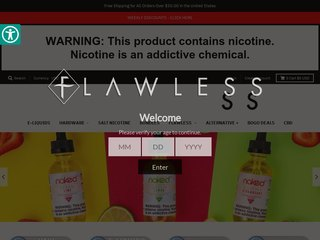 Flawless Vape Shop Coupons - Discount coupon codes & promo