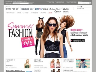 forevercom Show only verified coupons? Current Forever 21 Coupons This page contains a list of all current Forever 21 coupon codes that have been shared by the retailer or community members.