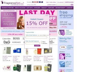 Fragrancenet coupons discounts