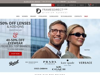 FramesDirect coupons