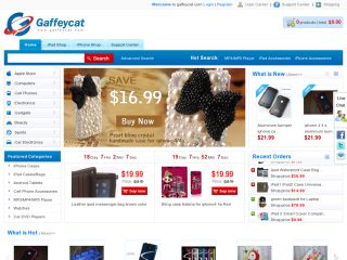 Gaffeycat.com coupons