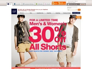 Gap coupons