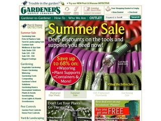 Gardeners supply company coupons discount coupon codes for Gardeners supply company